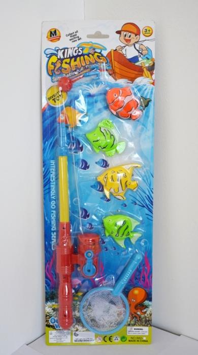 купить детскую удочку с рыбками