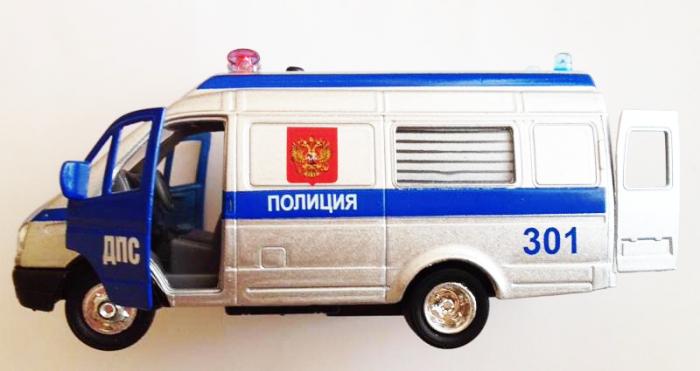 Двери машина газель полиция